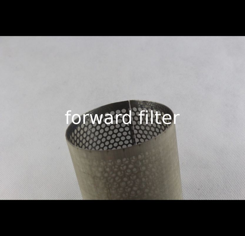 Spiral Welding Perforated Stainless Steel Tube Carbon Galvanized For Agriculture