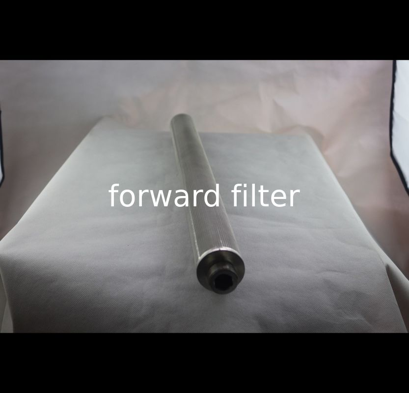 Stainless Steel Perforated Filter Tube Petroleum Refining Filtration Core