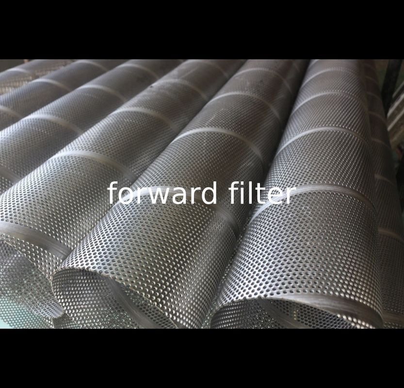 Round Petroleum Refining Filtration Tube Thickness 10mm-1000mm Customized Layer